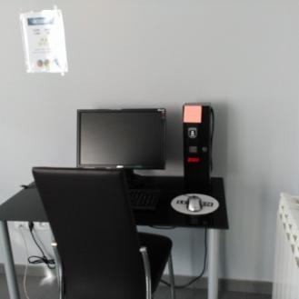 En la planta Pensión, segunda, dispones de sala de ordenador
