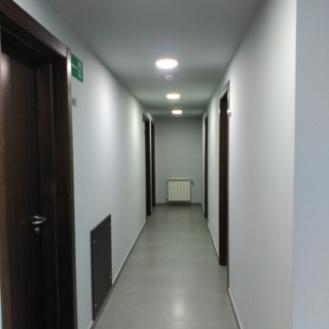 El pasillo de la planta segunda