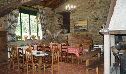 El salón para desayunos