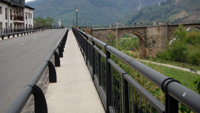 Salida de Villafranca del Bierzo