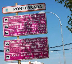 Entrada a Ponferrada 2013