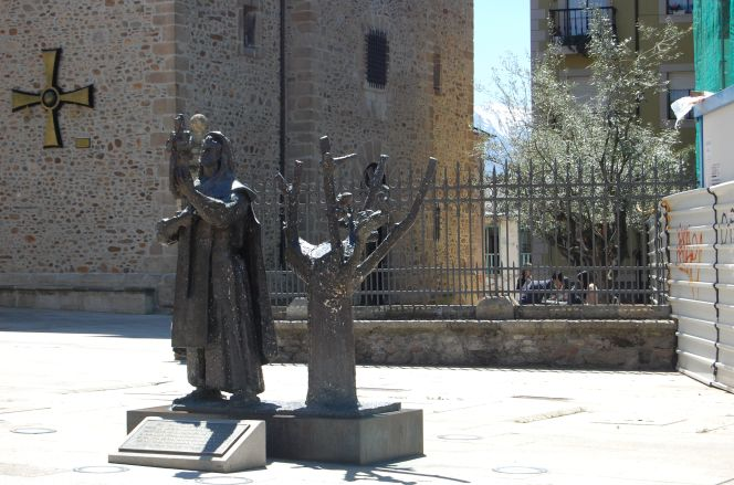 Monumento en la Iglesia
