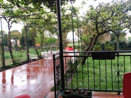 La terraza de Casa Alongos