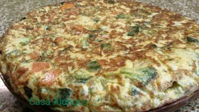 Tortilla vegetal