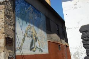 Un grafitti curioso en Cacabelos