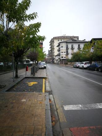 Calle principal de ELIZONDO