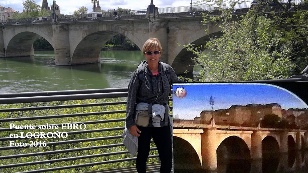 12.Puente en LOGROÑO Río EBRO