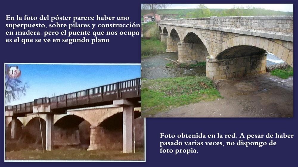 15.BELORADO. Río Tirón - puente EL CANTO