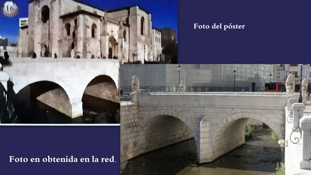 16.Puente de San Juan en BURGOS sobre río vena
