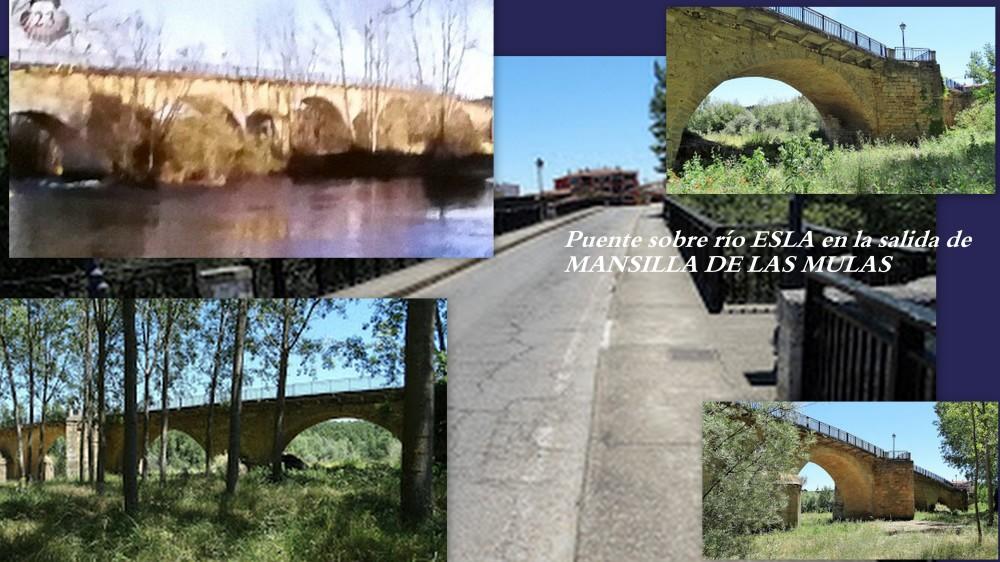 23.puente sobre ESLA en MANSILLA DE LAS MULAS