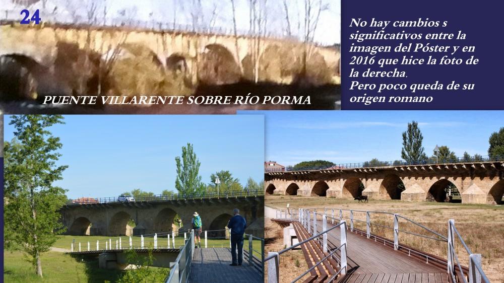 24.Puente VILLARENTE sobre río PORMA