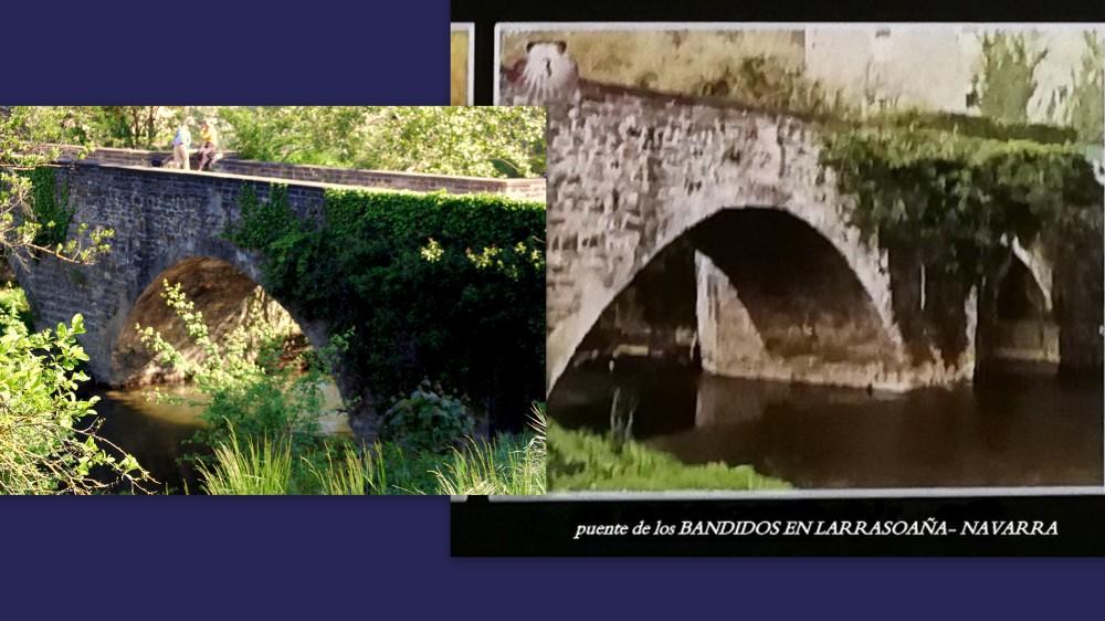 3.puente de los bandidos en LARRASOAÑA