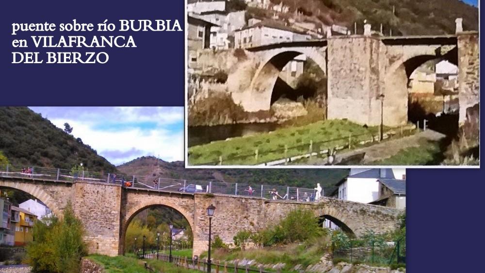 31.puente sobre río Burbia en Vilafranca del Bierzo
