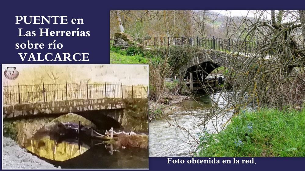 32.Puente en las Heerrerías sobre Río Valcarce