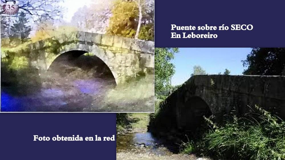 35.puente en LEBOREIRO sobre río SECO