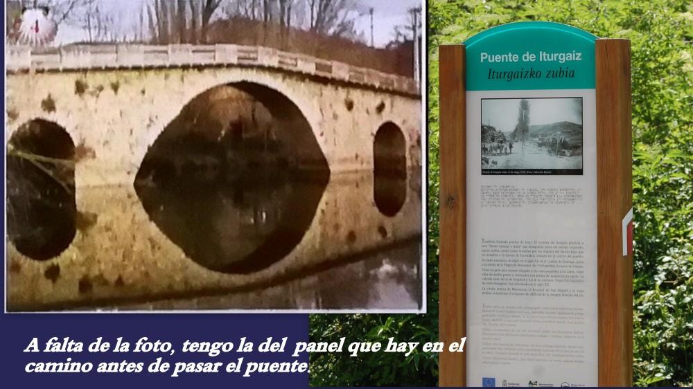 4.Puente de Iturgaiz, sobre río ARGA en IROZ